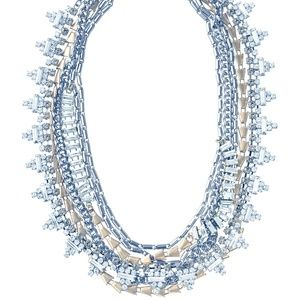 Diamond Gold Silver (5 in 1) Layered Necklace